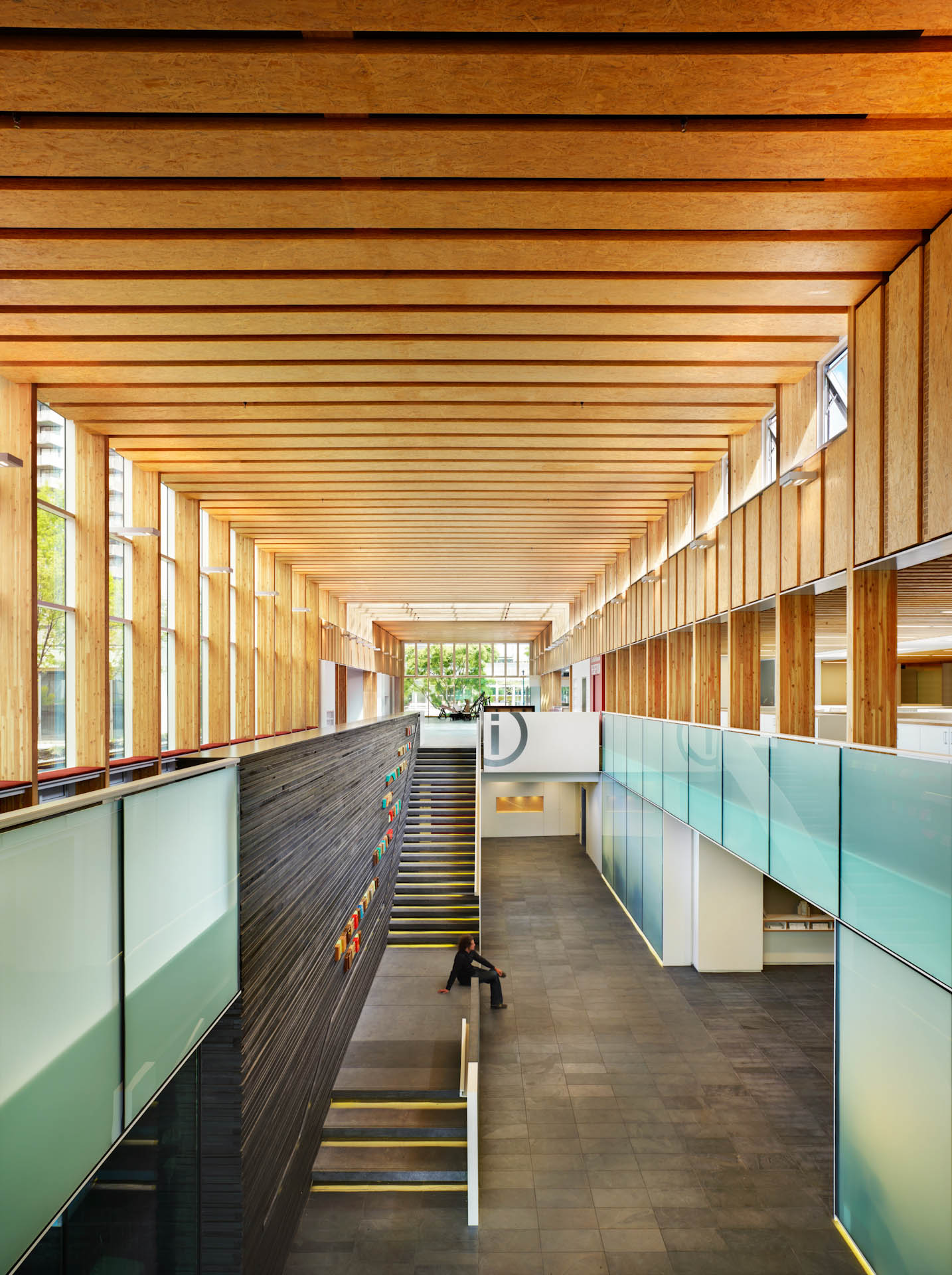 North vancouver city hall merit award 2012 michael for Hall woodwork designs