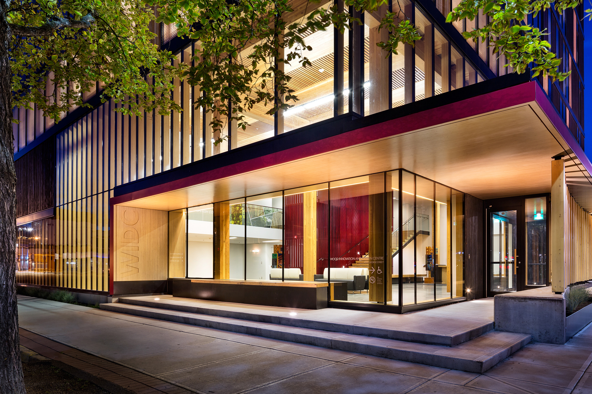 Wood Architecture: WOOD INNOVATION AND DESIGN CENTRE