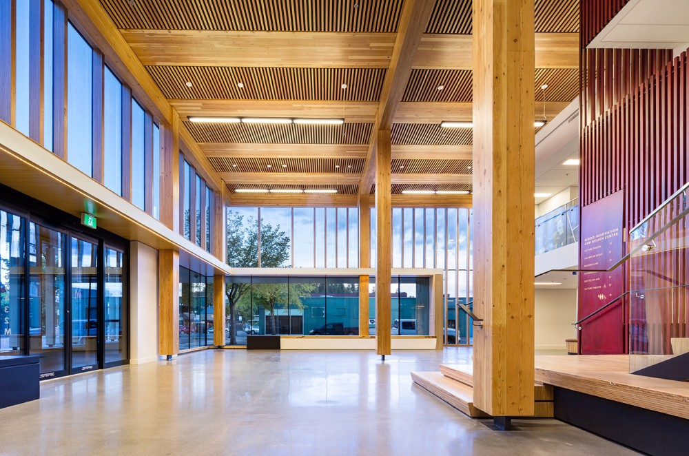 Wood Innovation And Design Centre Michael Green Architecture