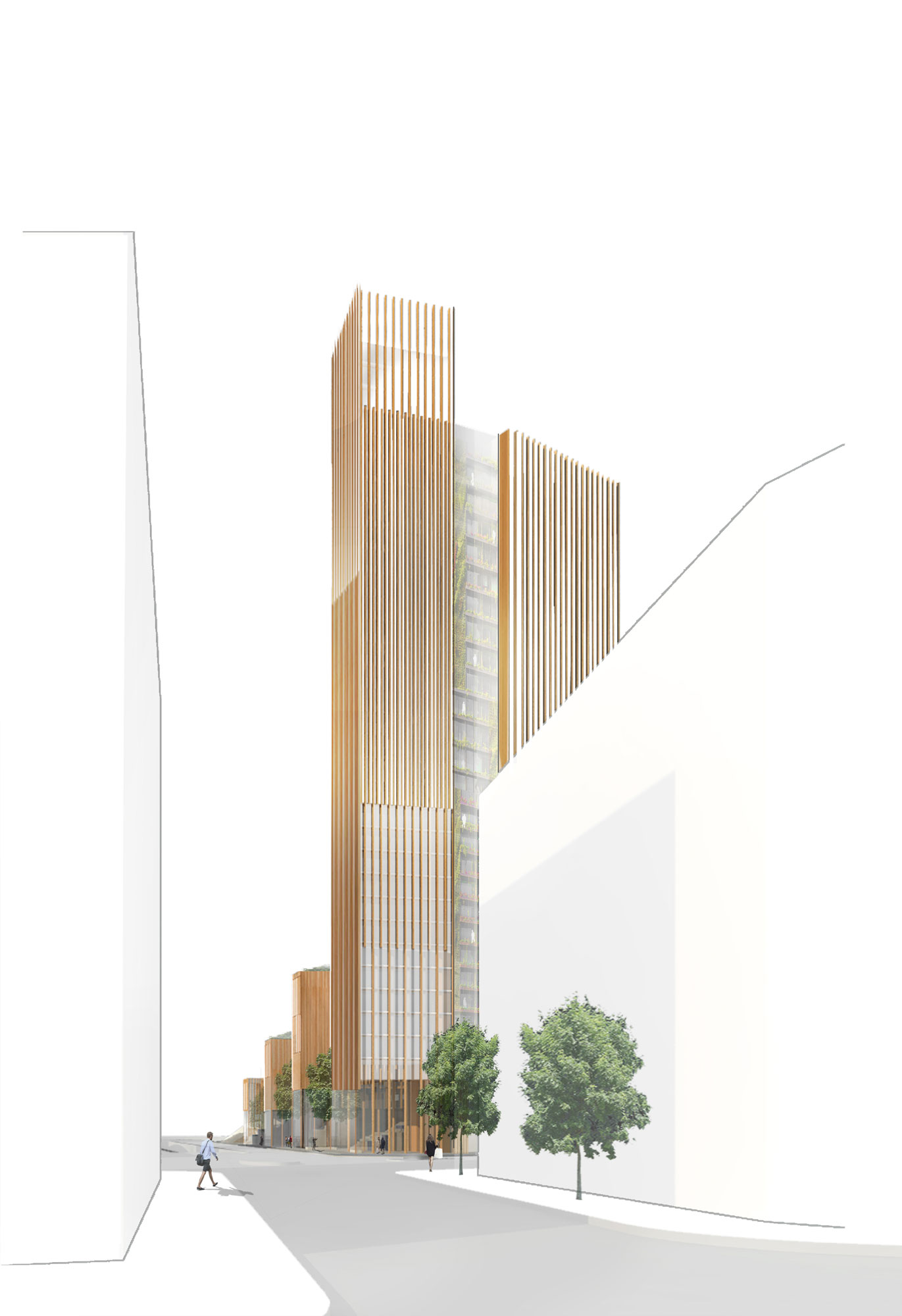 A proposal to transform the parisian skyline and define a Wood architecture definition